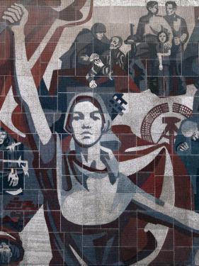 East Germany Monumental Propaganda, Dresden, Saxony, Germany by Ivan Vdovin