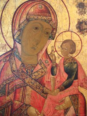 Icon, Mstera, Vladimir Region, Russia by Ivan Vdovin
