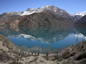 Lake Iskanderkul and Fann Mountains, Tajikistan by Ivan Vdovin