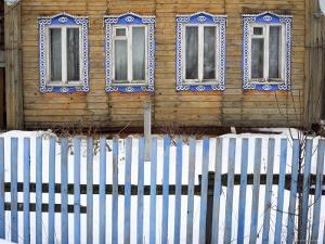 Rural Wooden House, Vladimir Region, Russia by Ivan Vdovin