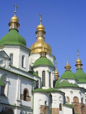 Saint Sophia Cathedral, Kiev, Ukraine by Ivan Vdovin
