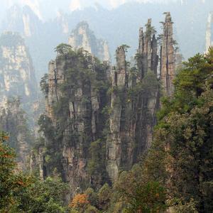 Zhangjiajie National Forest Park, Hunan, China by Ivan Vdovin