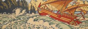 Sinbad the Sailor by Ivan Yakovlevich Bilibin