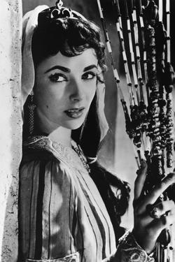 Ivanhoe De Richardthorpe Avec Elizabeth Taylor, 1952 (D'Apres Le Roman De Walter Scott)