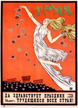 May Day: Long Live the Festival of the Workers of All Countries by Ivanov