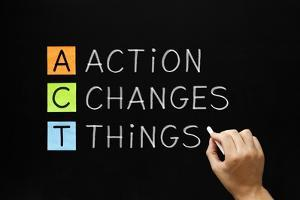 Action Changes Things Acronym by Ivelin Radkov