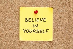 Sticky Believe In Yourself by Ivelin Radkov