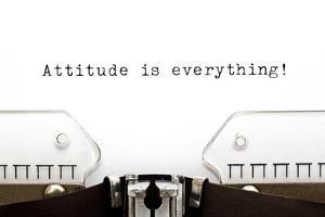 Typewriter Attitude Is Everything by Ivelin Radkov