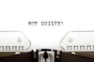 Typewriter Not Guilty by Ivelin Radkov