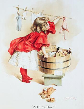 Ivory Soap Girl Washing