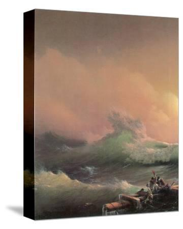 The Ninth Wave (left detail)