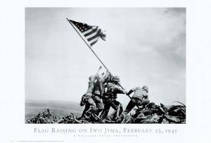 Iwo Jima-Flag Raising