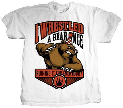 Iwrestledabearonce - Party Mascot