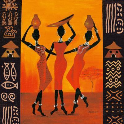 Three Gatherers by Izabella Dahlke