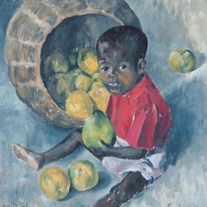 Fito, Twin Son of Abel, Haiti, 1961 by Izabella Godlewska de Aranda