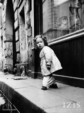 Rue Hautefeuille, Paris, c.1951 by Izis