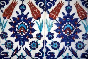 Iznik Tiles, Rustem Pasha Mosque, Istanbul, Turkey