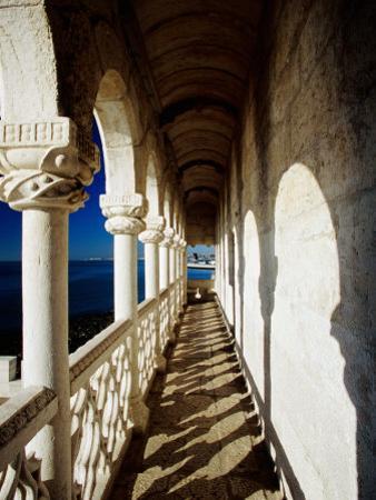 Balcony of Torre De Belem, Lisbon, Portugal by Izzet Keribar