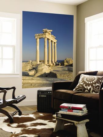 The Temple of Apollon by Izzet Keribar