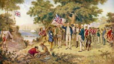 Captain Cook Takes Formal Possession of New South Wales