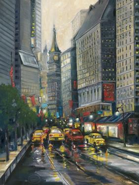 City Street I by J. Adams
