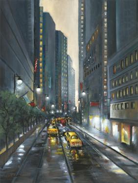 City Street II by J. Adams