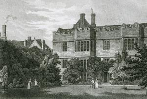 Exeter College, Oxford by J and HS Storer