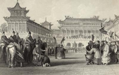 Emperor Tao-Kuang Reviews His Armed Forces in Peking