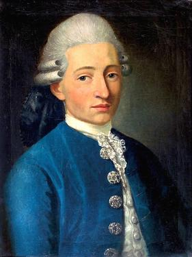 Portrait of a Young Man (Wolfgang Amadeus Mozar), 1772 by J. B. Delahaye