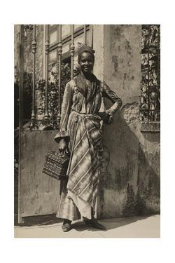 An Informal Portrait of a Woman from Martinique by J. Baylor Roberts