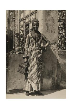 An Informal Portrait of a Woman from Martinique