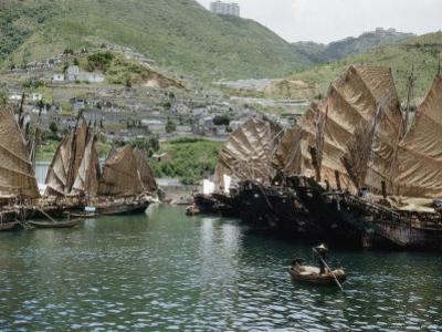 Junks Fill the Harbor