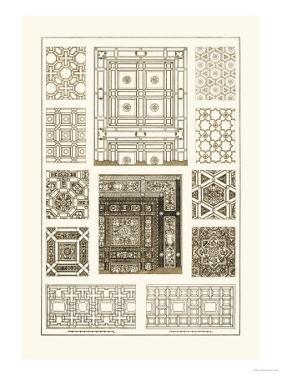 Ceilings with Bays and Mouldings by J. Buhlmann