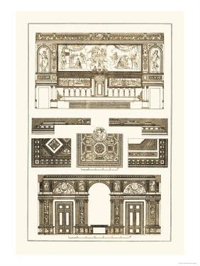 Decoration of Large Halls by J. Buhlmann