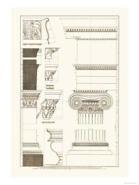 Details from the North Portico of the Erechtheum by J. Buhlmann