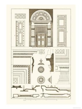 Doorway of the Pantheon at Rome by J. Buhlmann