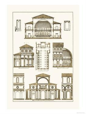 Interior of Basilica by J. Buhlmann