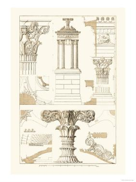 Monument of Lysicrates at Athens by J. Buhlmann