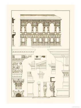 Palazzo Bevilacqua at Verona by J. Buhlmann