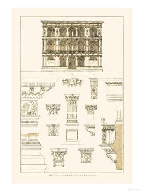 Palazzo Vendramin-Calergi at Venice by J. Buhlmann