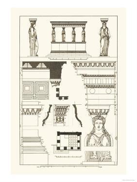 Porch of the Caryatids by J. Buhlmann