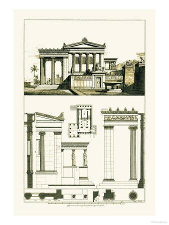 The Erechtheum at Athens