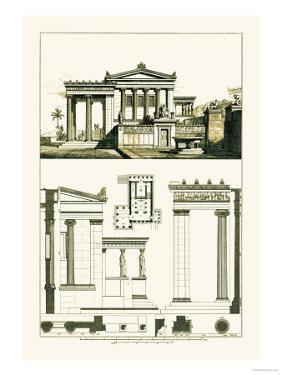 The Erechtheum at Athens by J. Buhlmann