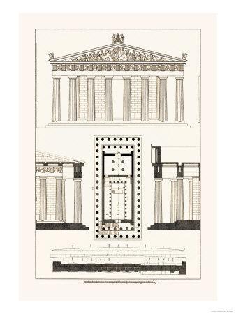 The Parthenon at Athens