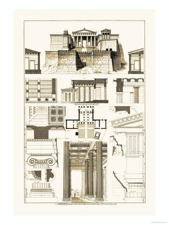 The Propylaea of the Acropolis at Athens