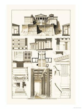 The Propylaea of the Acropolis at Athens by J^ Buhlmann