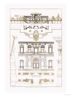 Villa Sacchetti, Villa Papa Giulio at Rome by J. Buhlmann