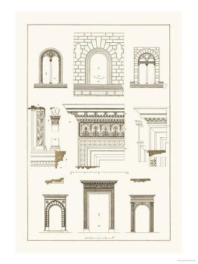 Windows and Doorways of the Renaissance by J. Buhlmann