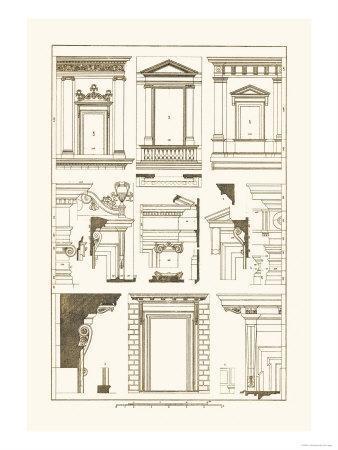 Windows of Palazzo Non Finito, Palace and House at Rome