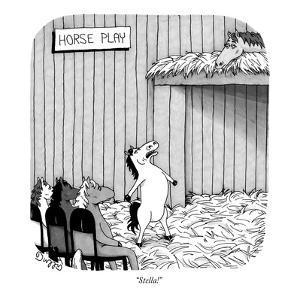 """Stella!"" - New Yorker Cartoon by J.C. Duffy"